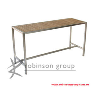 Stainless Steel and Teak Tables & Benches product