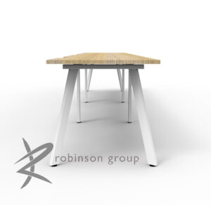 3 Person Single-Sided Workstation