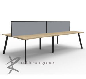 4 Person Double-sided Workstation