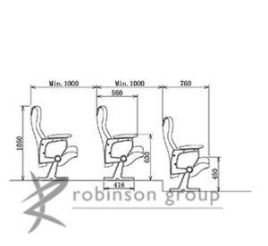 6219 Auditorium Chair