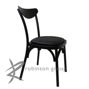 bistro black seat pad