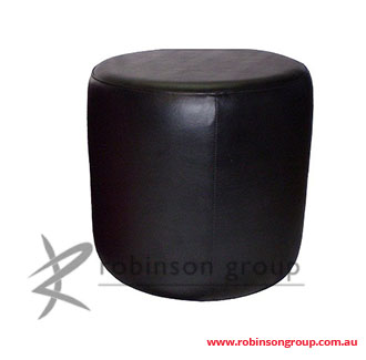 Custom Round Ottoman