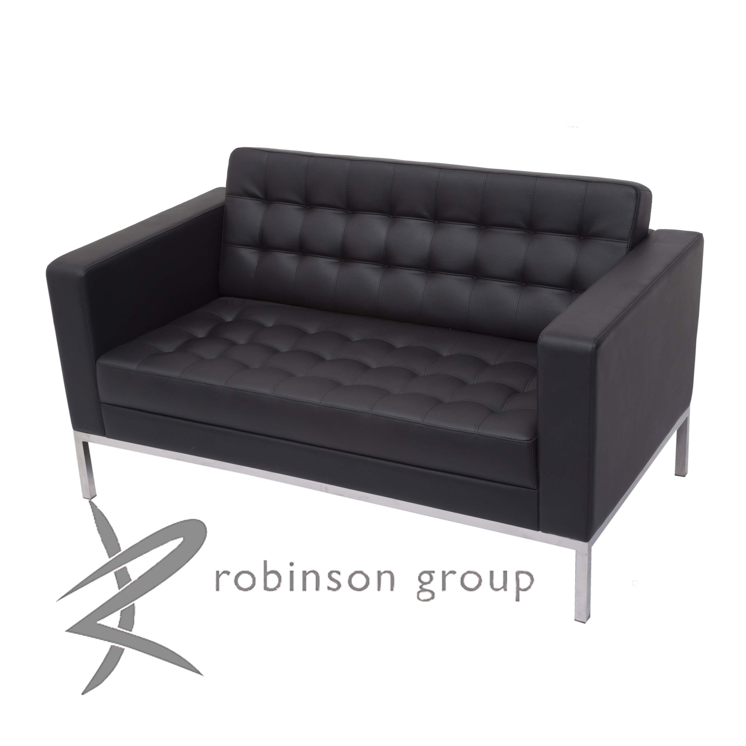 florence 2 seater commercial sofa