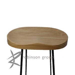elm barstool seat